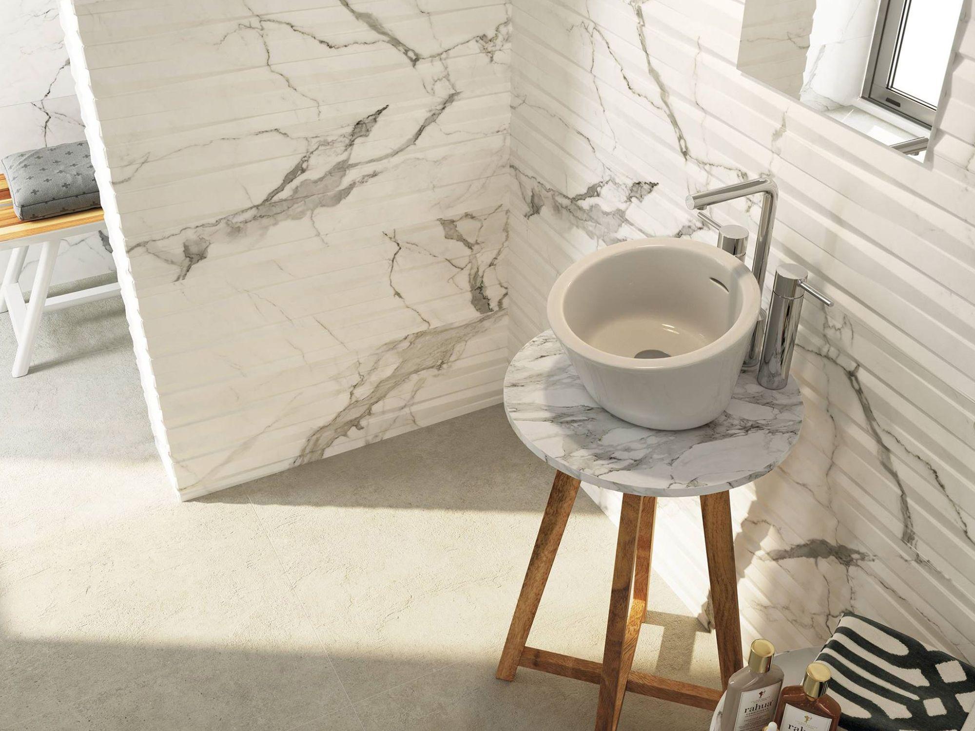 Cifre Cerámica Statuario rajoles imitació marbre