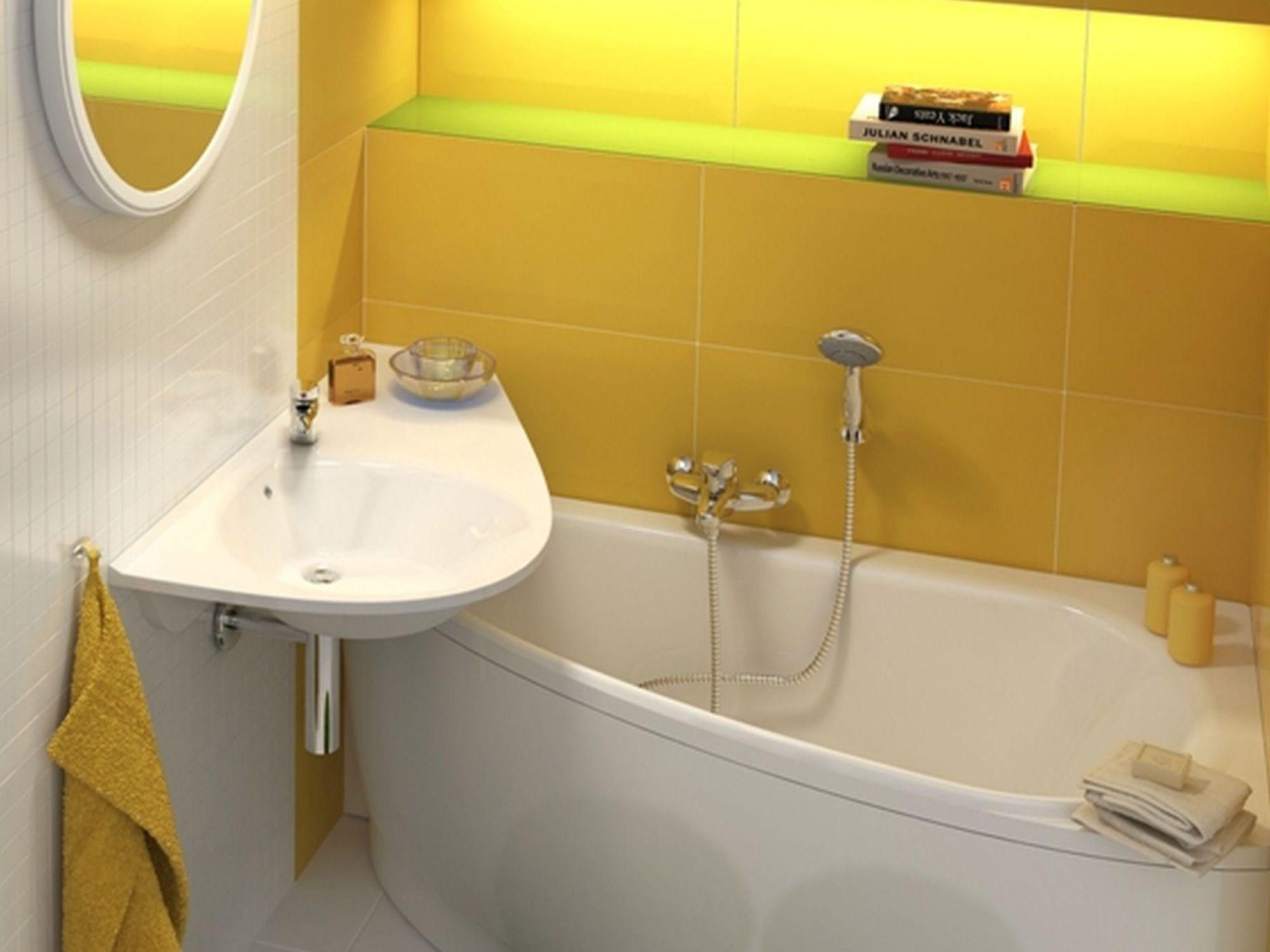 Bañera para espacios reducidos Ravak Avocado