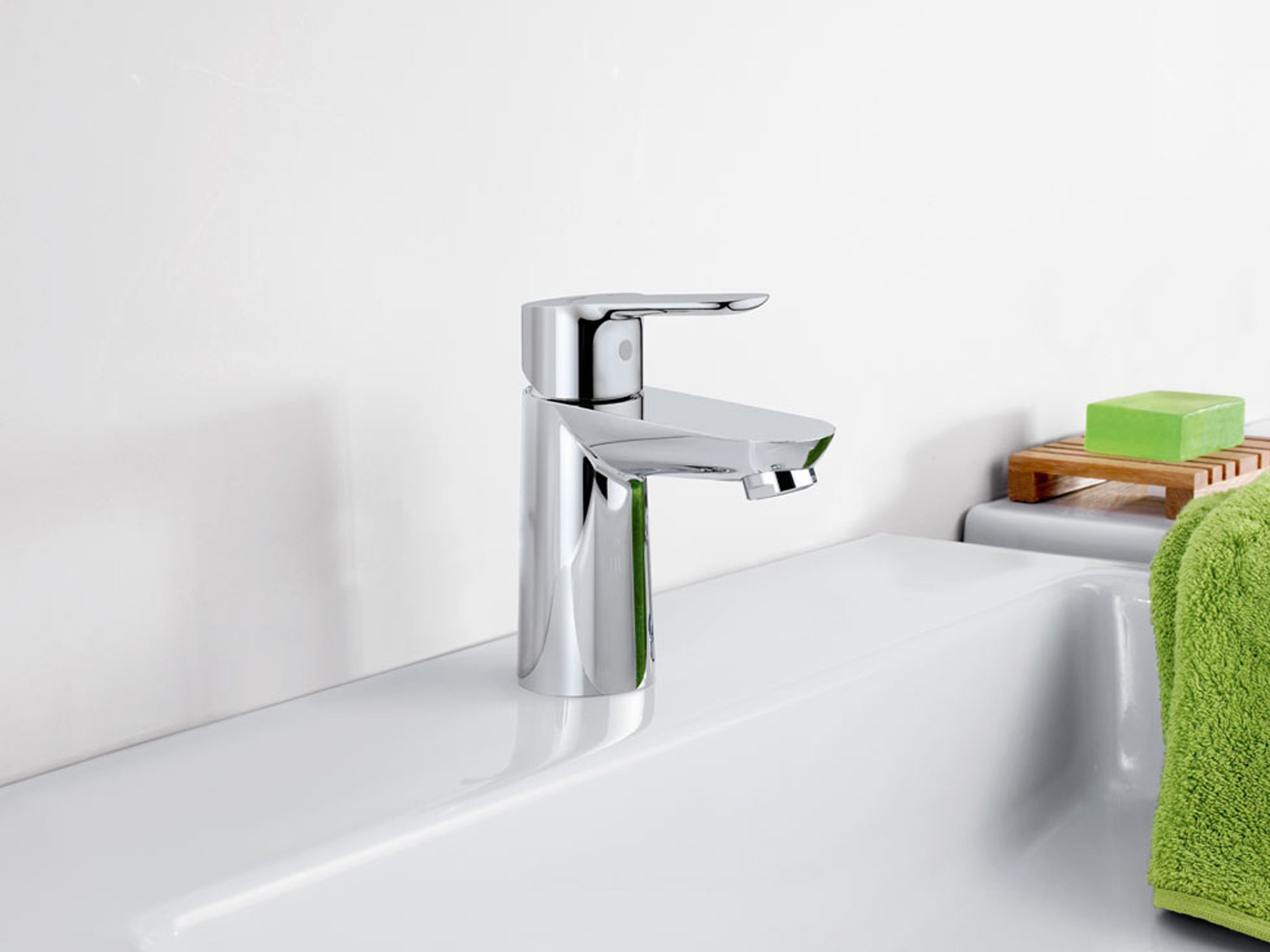 Aixetes Grohe a Barcelona Bauedge lavabo