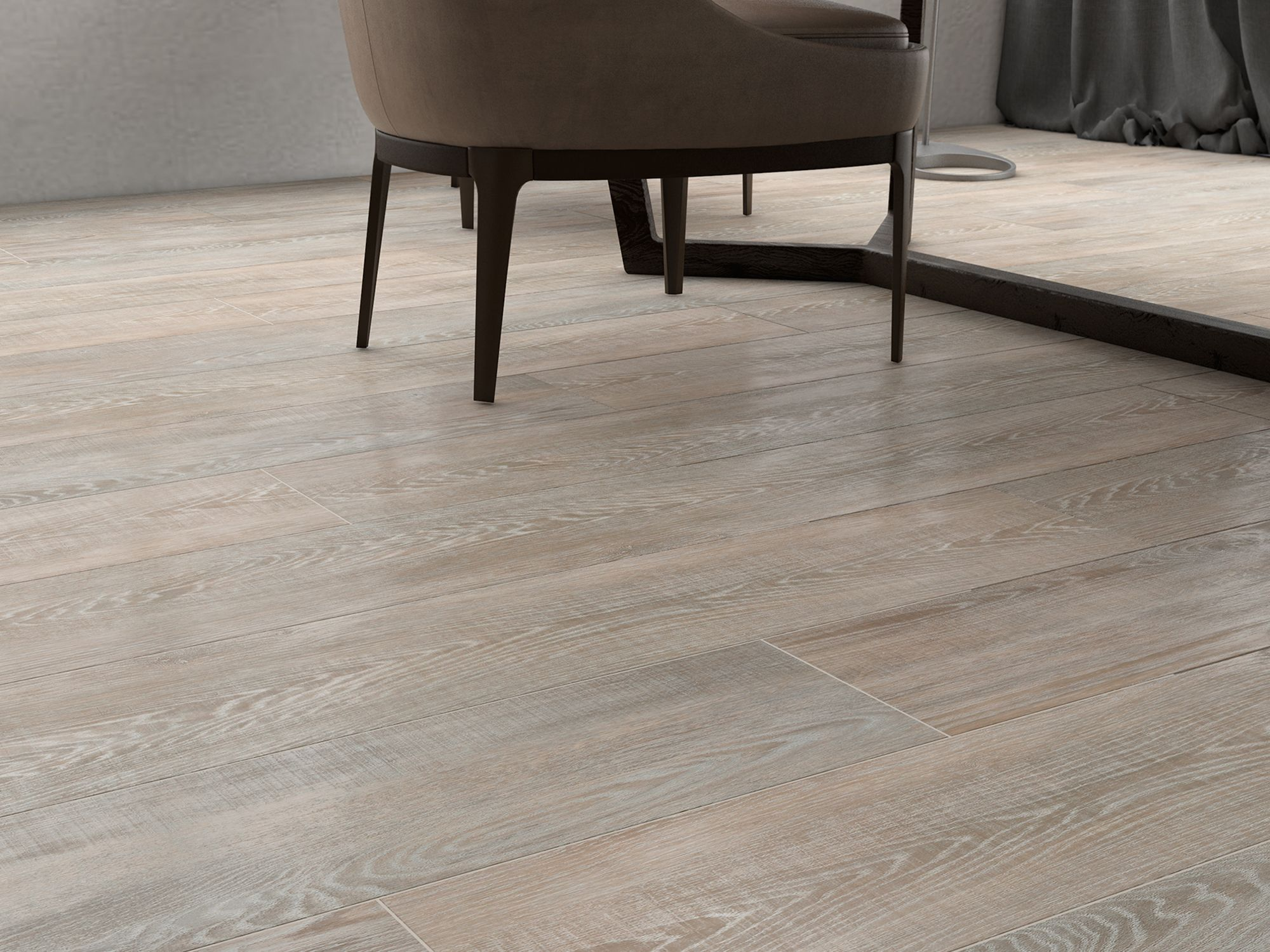 Parquet Vinílico alta calidad Faus Blue Evolution Roble Mykonos
