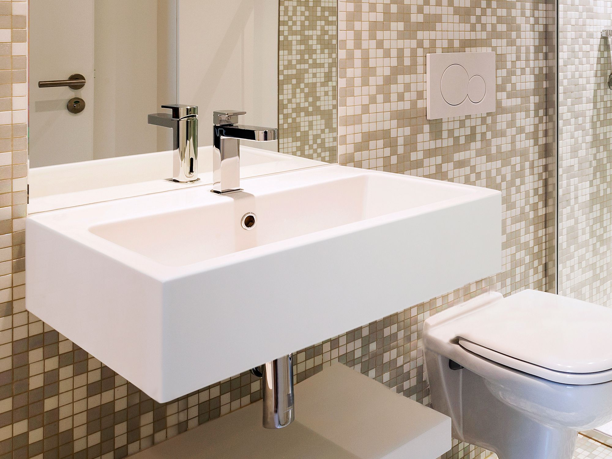 Lavabo Solid Surface a Barcelona de SDZ Bany