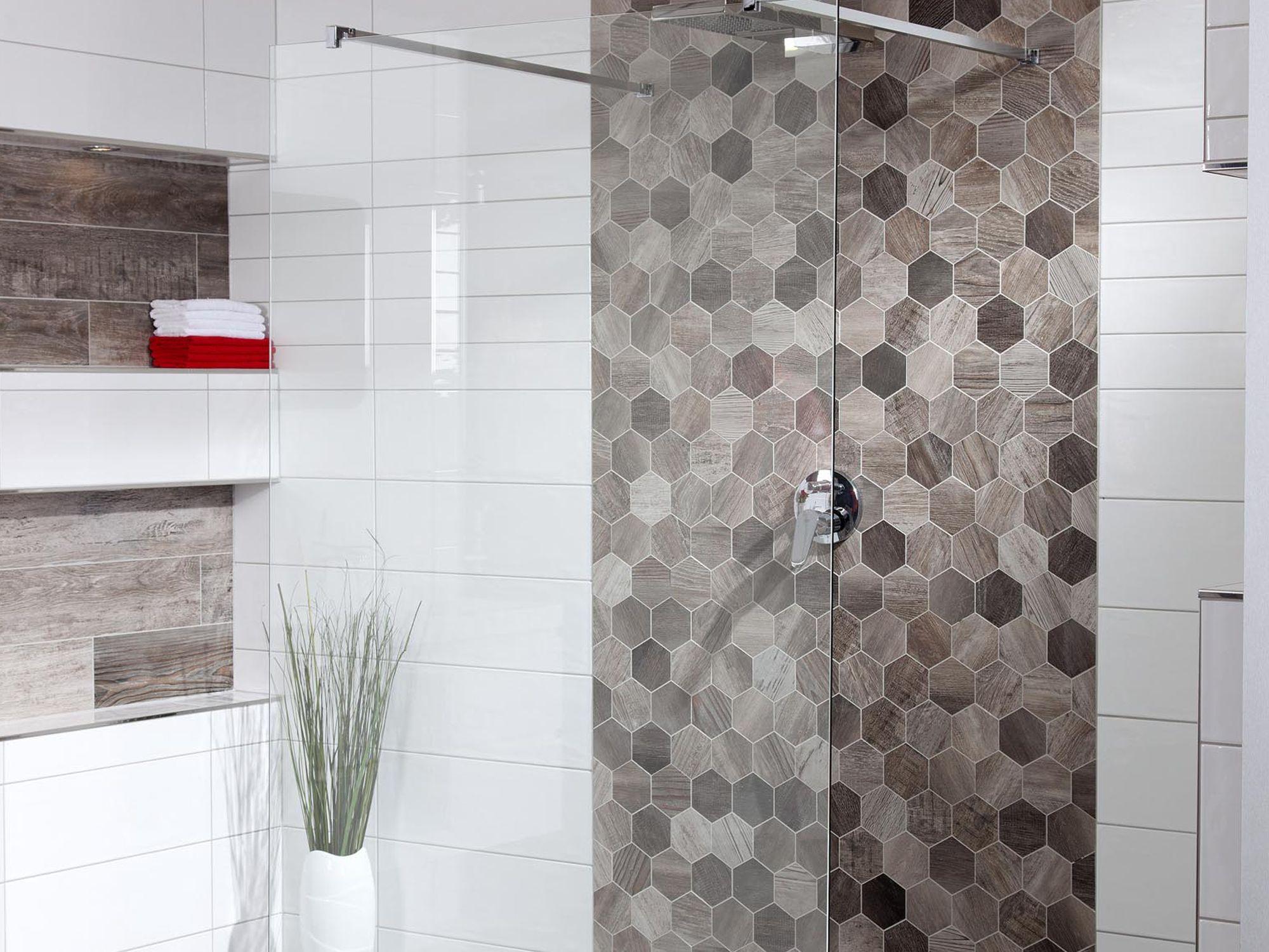 Mampara fixa de dutxa Anima Walk-In