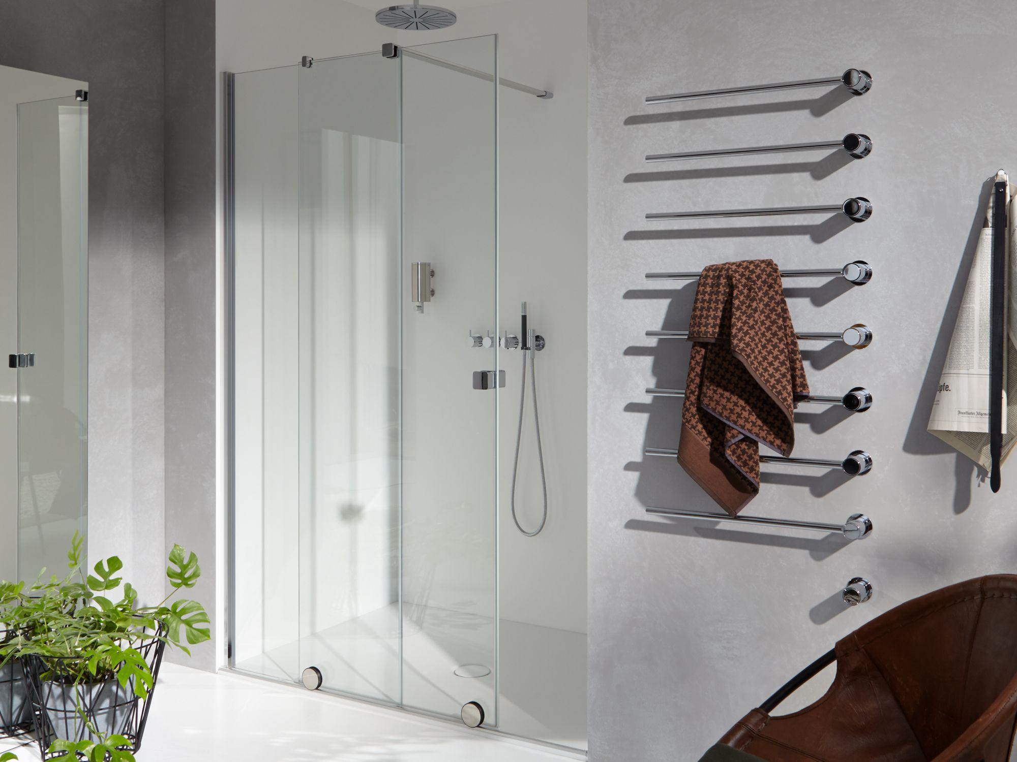 Mampara de dutxa Xtensa de Hüppe a Barcelona