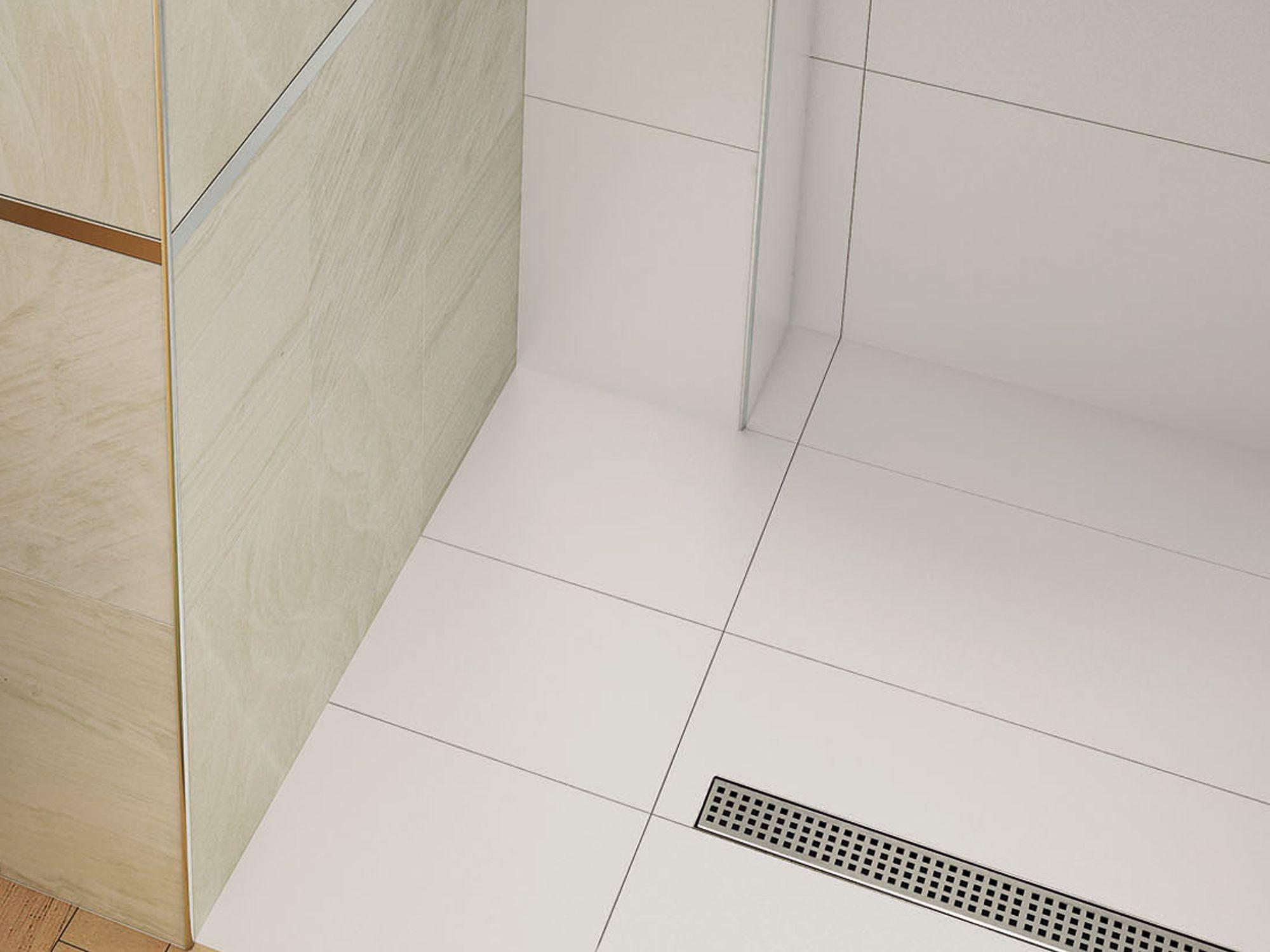 Desguassos lineals per a dutxes d'obra Euroshrink Eurodesagüe