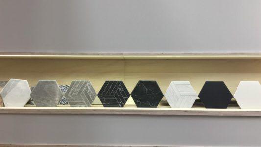 Oset presenta el Porcelánico hexagonal imitación a piedra