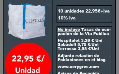Oferta minicontainers Cerygres 2020